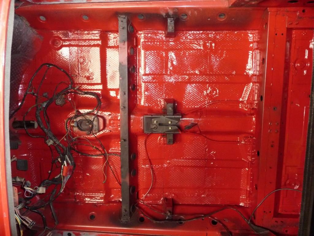 Restauration Cabriolet 80 Hp 1983 Peintu12