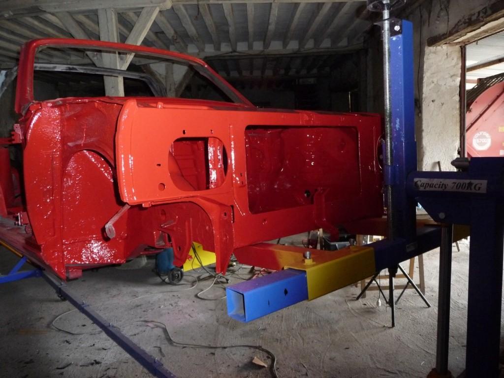 Restauration Cabriolet 80 Hp 1983 Peintu14