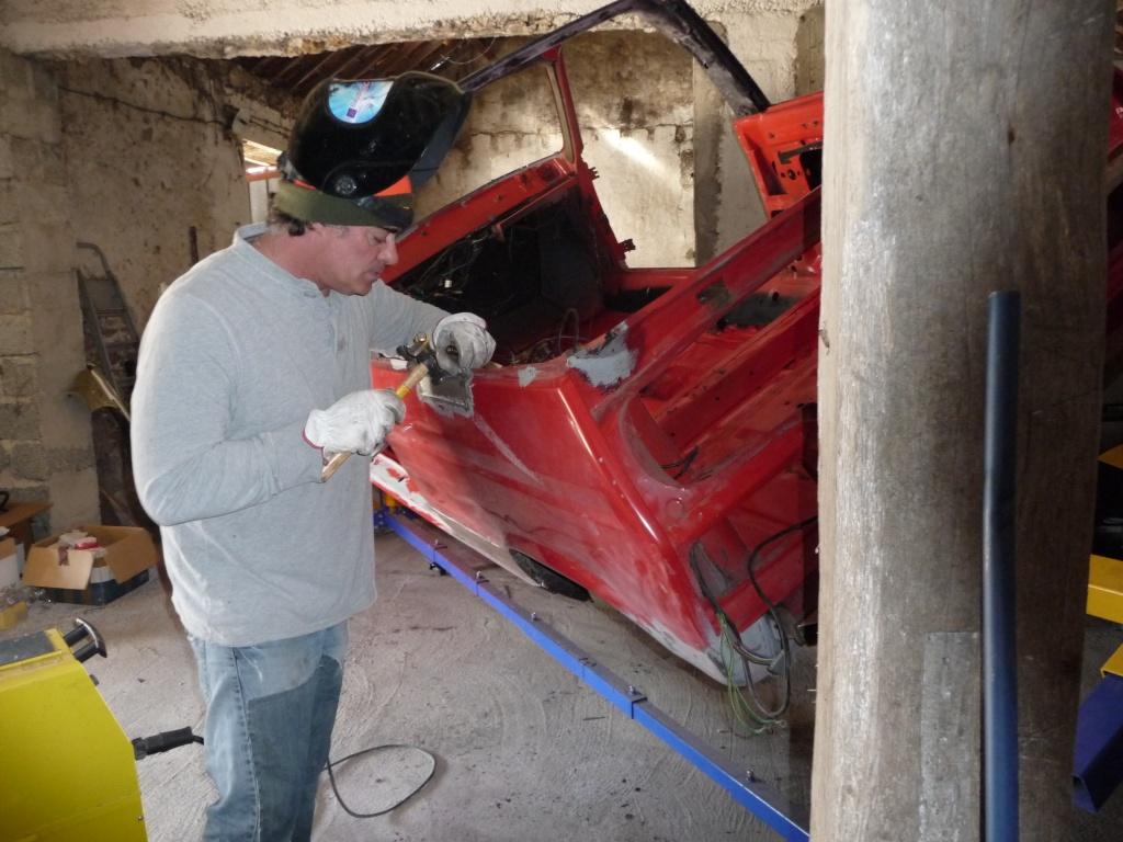 Restauration Cabriolet 80 Hp 1983 Soudur15