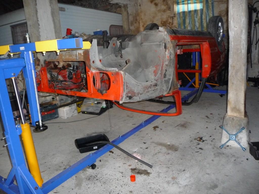 Restauration Cabriolet 80 Hp 1983 Tourne11