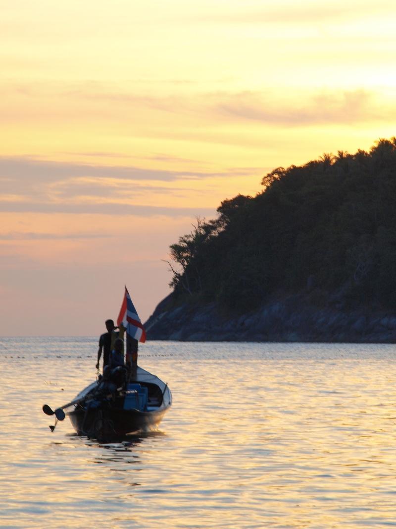 sur les plages de Thailande Pb156912