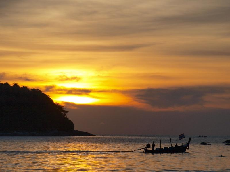 sur les plages de Thailande Pb156914