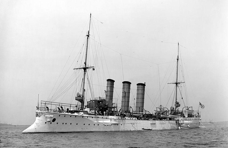 Croiseurs allemands Bremen10