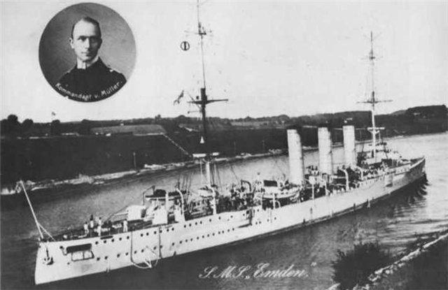 Croiseurs allemands Emden10