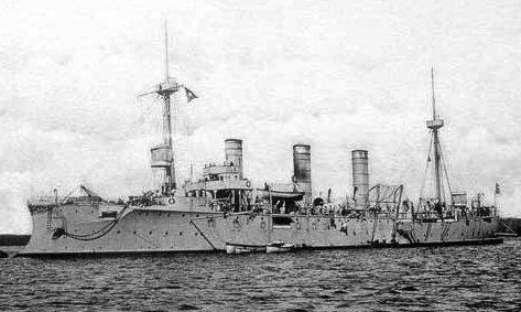 Croiseurs allemands Gefion10