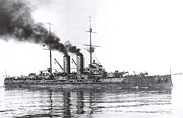 Marine Austro-Hongroise  Radetz10