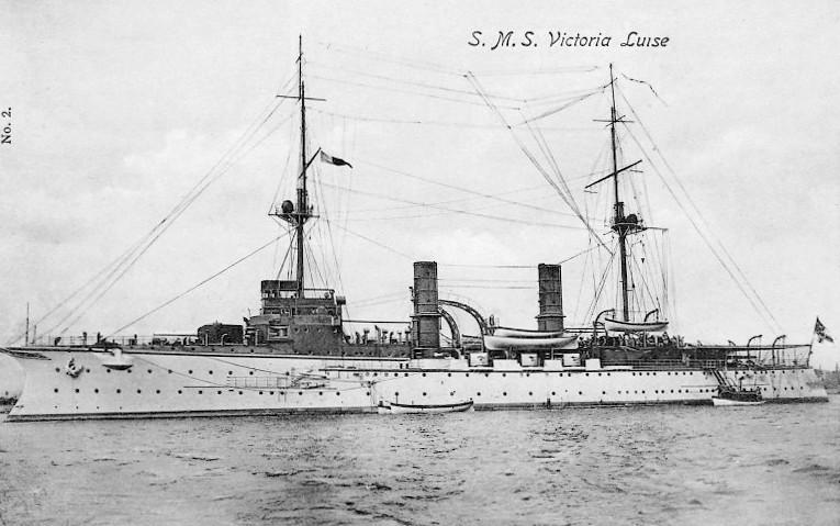 Croiseurs allemands Victor10