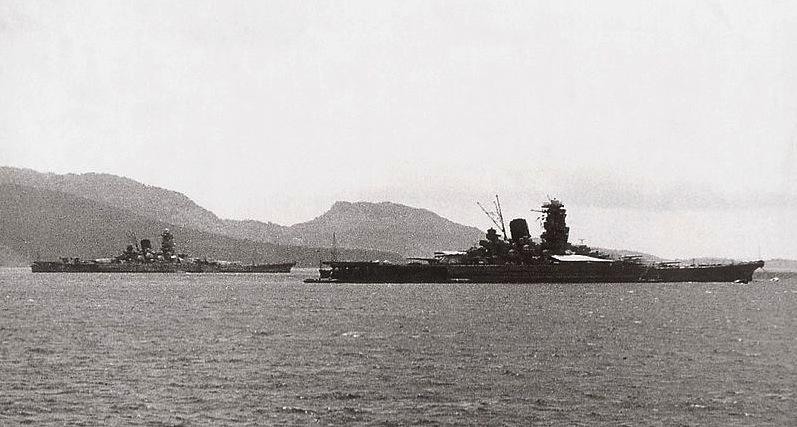 Cuirassés japonais Yamato10