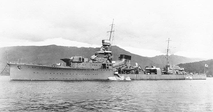 Croiseurs japonais Yubari10