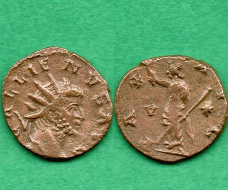 """Gallienus PAX AVG """"V *"""" Gallie10"""