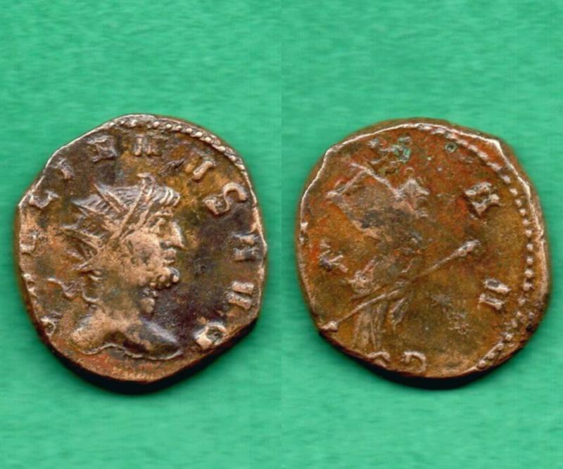 """Gallienus PAX AVG """"V *"""" Gallie11"""