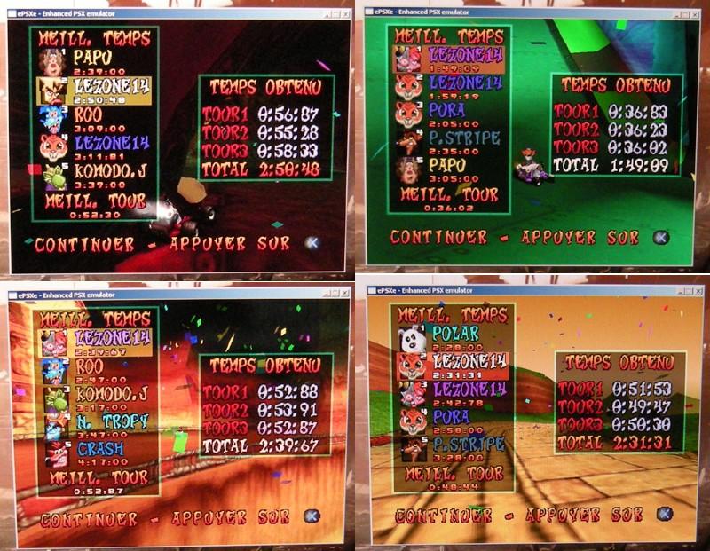 [Jeux Rétrolympiques 2014] Round 3 : Crash Team Racing PS1 Lezone10