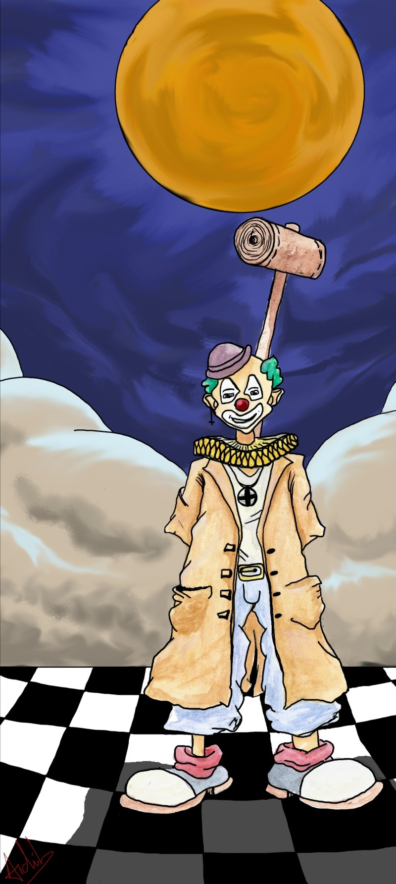 Le SUPERZigouigoui de la semaine - Page 6 Clown_10
