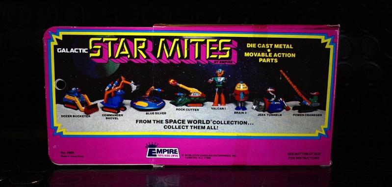 STAR MITES - UFO COMMANDER 7 by SHINSEI... la serie quasi completa 21310