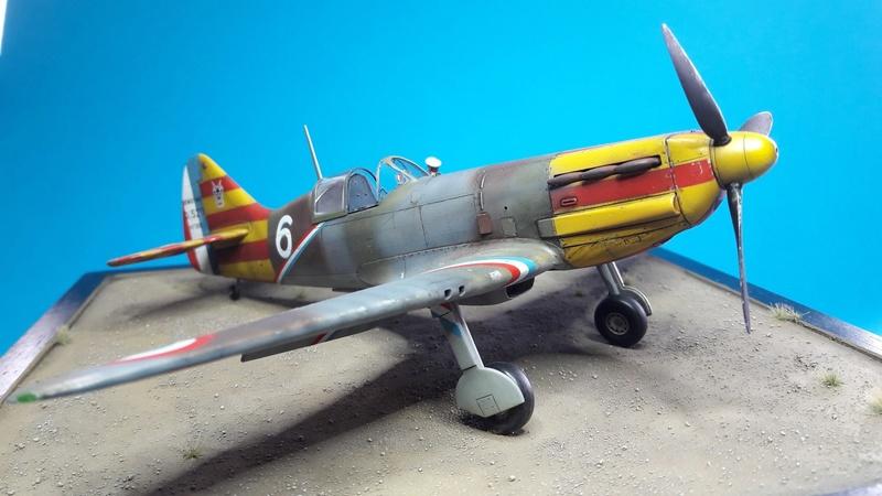 Dewoitine D520  1/ 48  - CG III/6  Le gloan   Alger - fin 1942   Image183