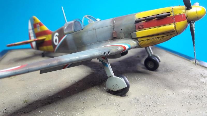 Dewoitine D520  1/ 48  - CG III/6  Le gloan   Alger - fin 1942   Image184