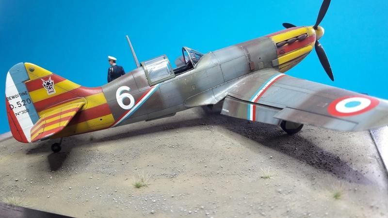 Dewoitine D520  1/ 48  - CG III/6  Le gloan   Alger - fin 1942   Image185
