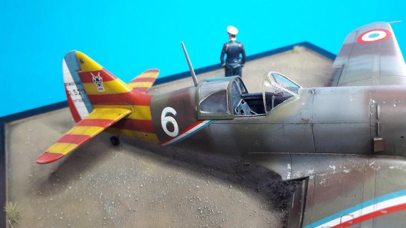 Dewoitine D520  1/ 48  - CG III/6  Le gloan   Alger - fin 1942   Image186