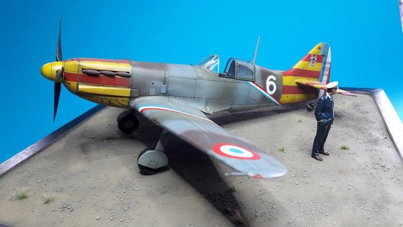 Dewoitine D520  1/ 48  - CG III/6  Le gloan   Alger - fin 1942   Image188
