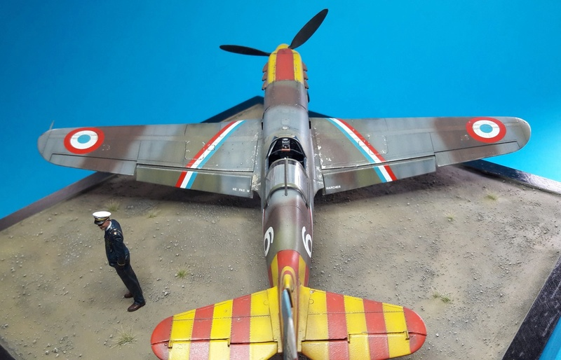 Dewoitine D520  1/ 48  - CG III/6  Le gloan   Alger - fin 1942   Image211