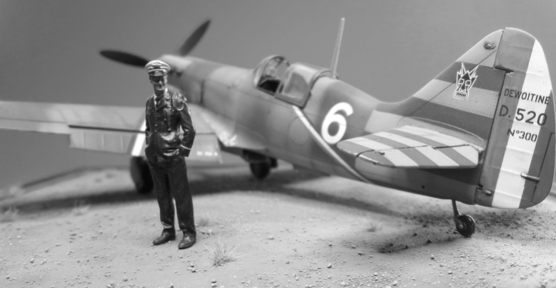 Dewoitine D520  1/ 48  - CG III/6  Le gloan   Alger - fin 1942   Image311