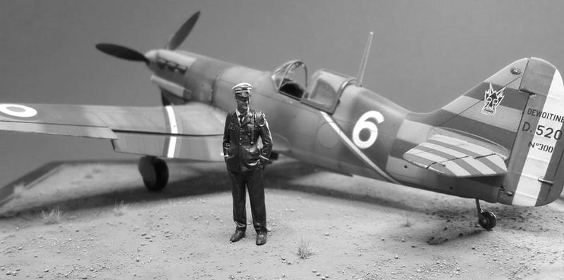 Dewoitine D520  1/ 48  - CG III/6  Le gloan   Alger - fin 1942   Image411