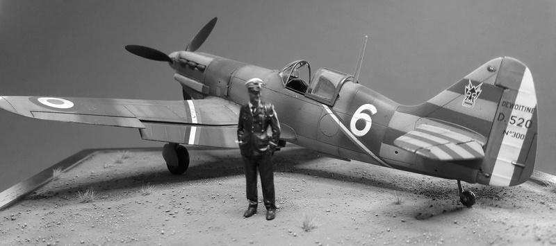 Dewoitine D520  1/ 48  - CG III/6  Le gloan   Alger - fin 1942   Image625