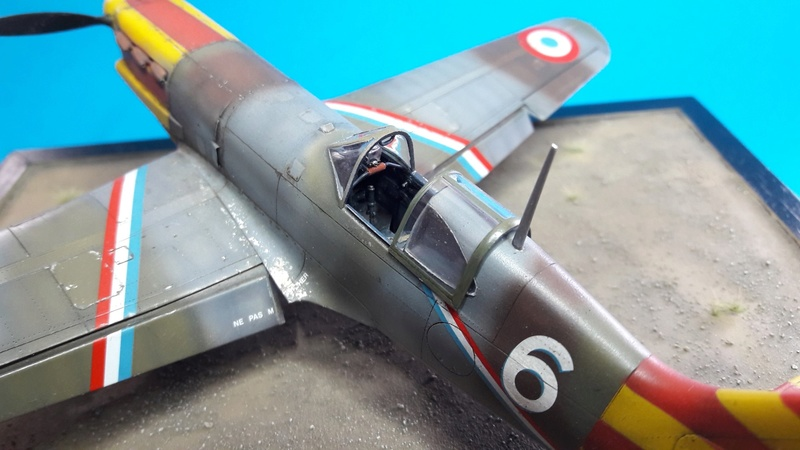 Dewoitine D520  1/ 48  - CG III/6  Le gloan   Alger - fin 1942   Image823
