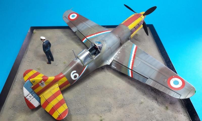 Dewoitine D520  1/ 48  - CG III/6  Le gloan   Alger - fin 1942   Image921