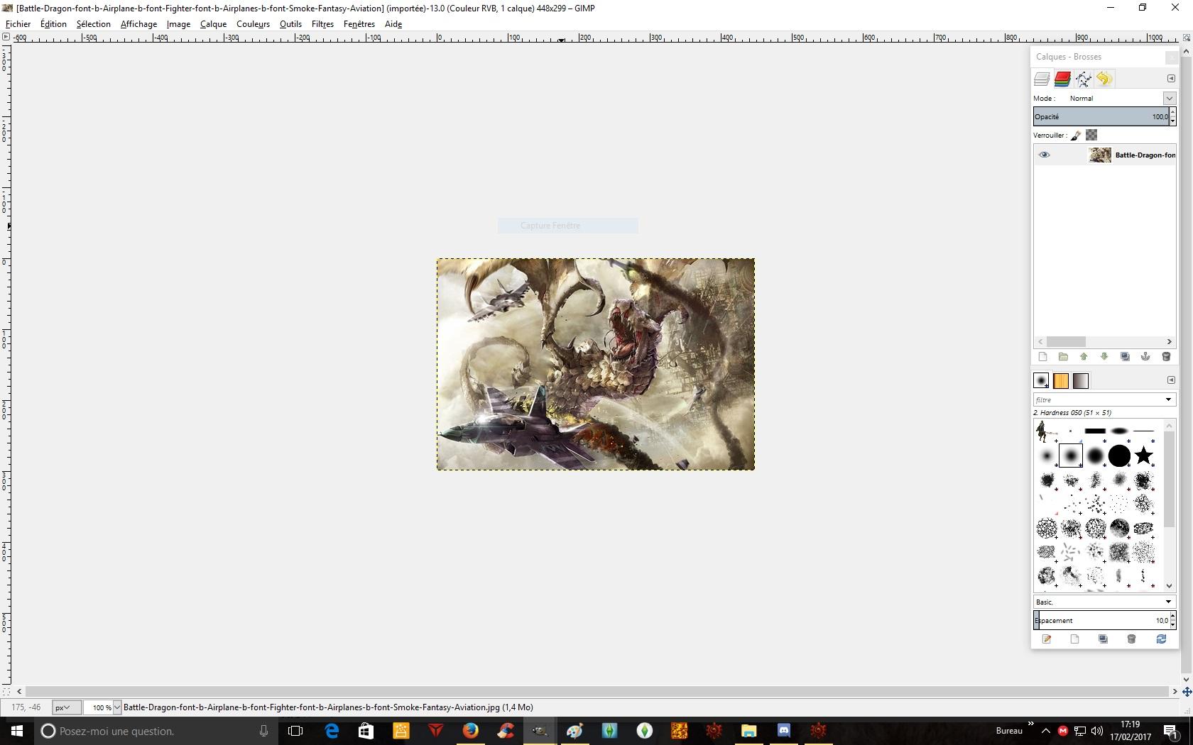 Probléme avec GIMP  Ladyca10