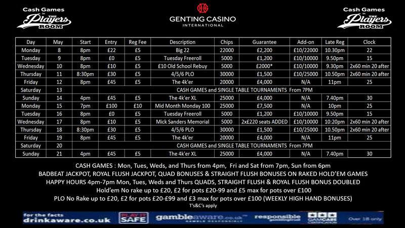 Latest Genting Resortsworld Schedule Gic_mi10