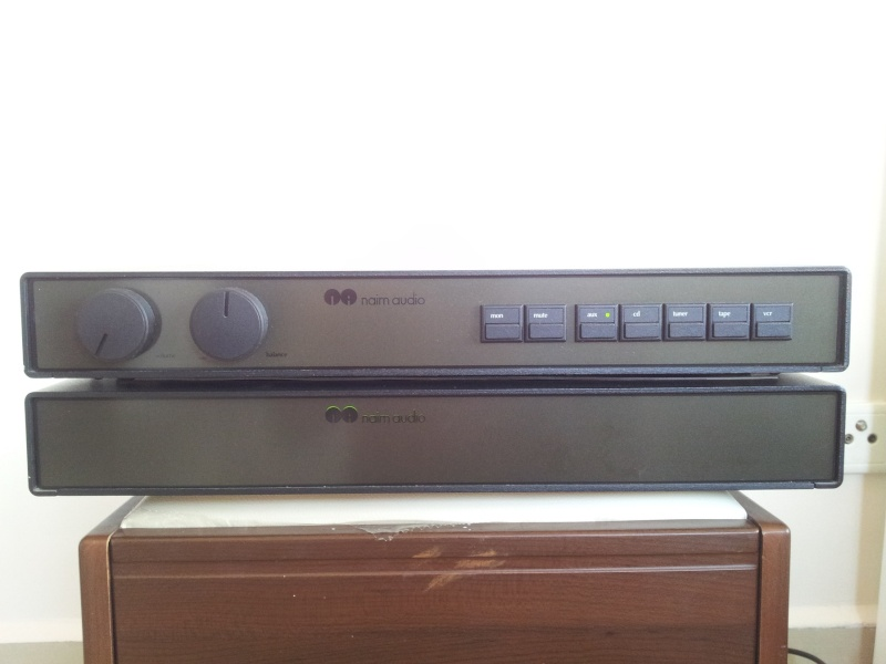 Naim NAC92 Pre-Amplifier and NAP-90 Stereo Power Amplifier  20151110