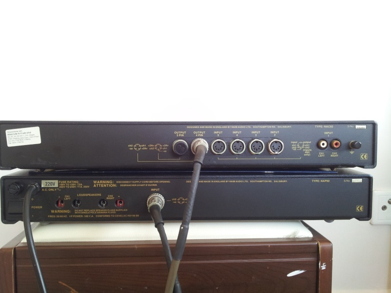 Naim NAC92 Pre-Amplifier and NAP-90 Stereo Power Amplifier  20151112