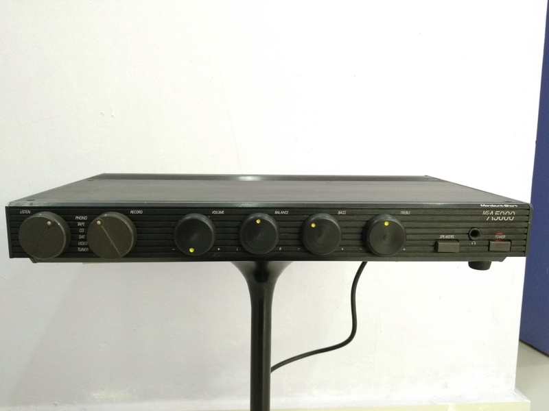 Mordaunt Short MS-A5000 England Made Stereo Amplifier with MM and MC Img_2243