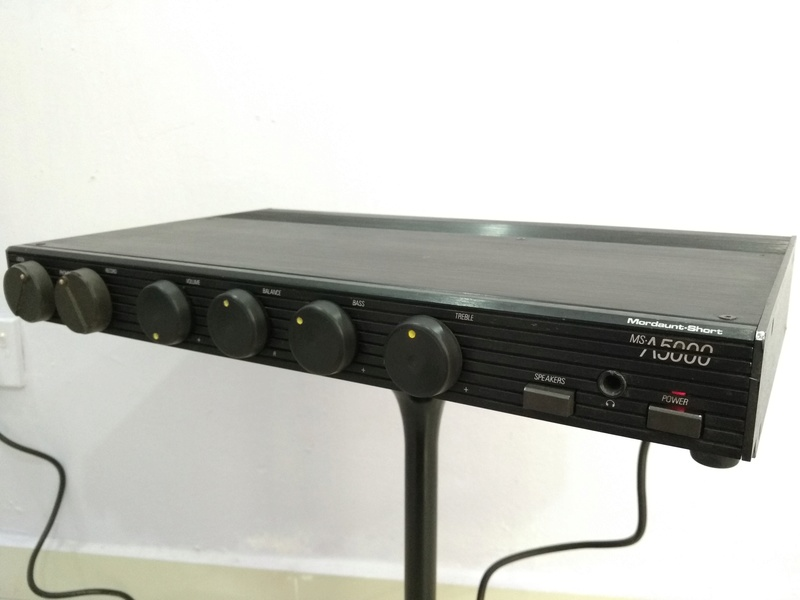 Mordaunt Short MS-A5000 England Made Stereo Amplifier with MM and MC Img_2245