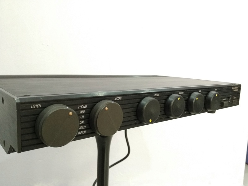 Mordaunt Short MS-A5000 England Made Stereo Amplifier with MM and MC Img_2246