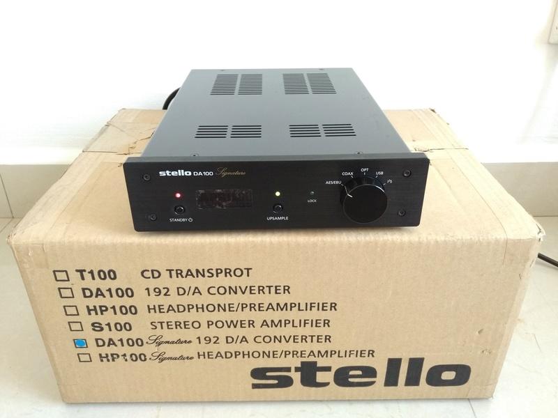 APRIL MUSIC  Stello DA-100 Signature USB D/A Converter Img_2263