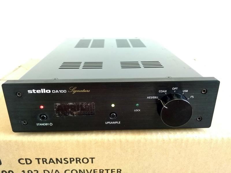APRIL MUSIC  Stello DA-100 Signature USB D/A Converter Img_2264