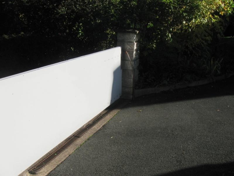 [realisation] portail coulissant et motorisation Img_6712