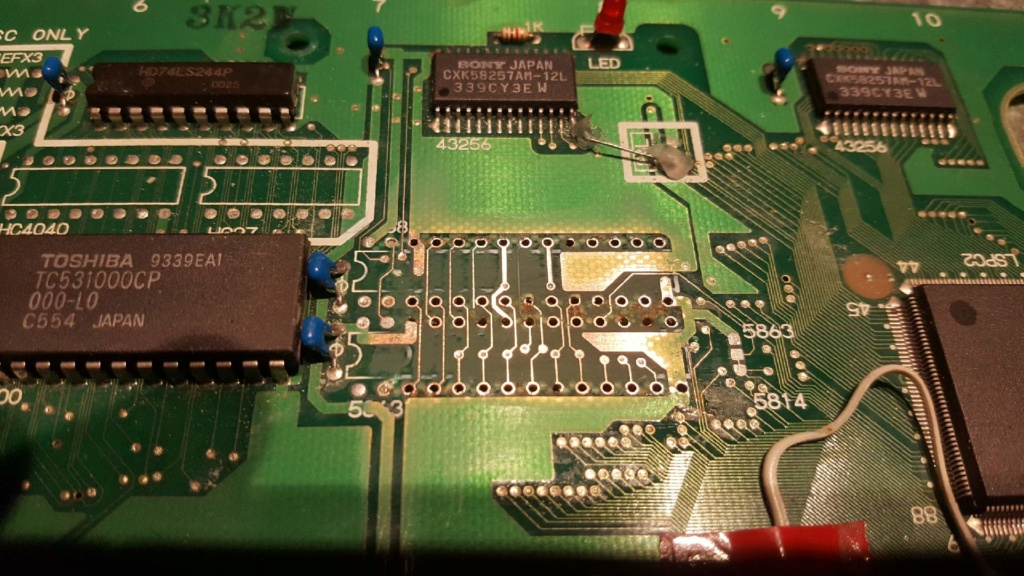 Problème sur slot MV4F - Bug graphique Resize15