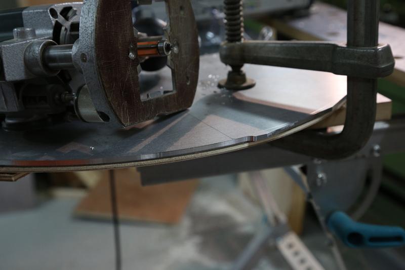 [Fabrication] Guide de coupe angulaire pour scie à format. 05_jan15