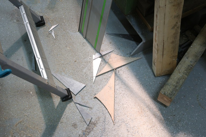 [Fabrication] Guide de coupe angulaire pour scie à format. 05_jan16