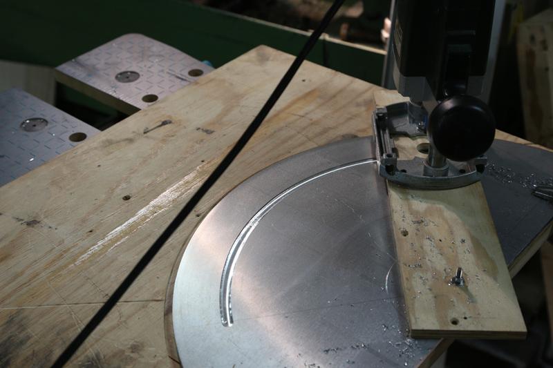 [Fabrication] Guide de coupe angulaire pour scie à format. 05_jan19