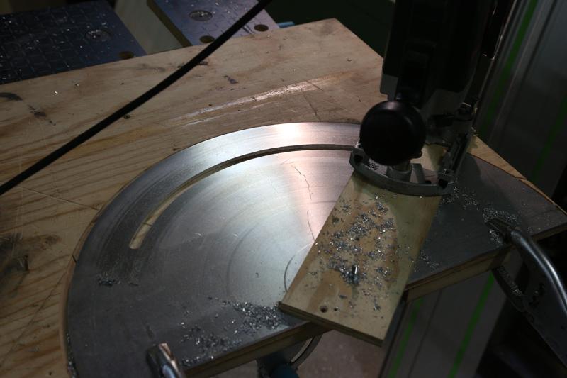 [Fabrication] Guide de coupe angulaire pour scie à format. 05_jan21