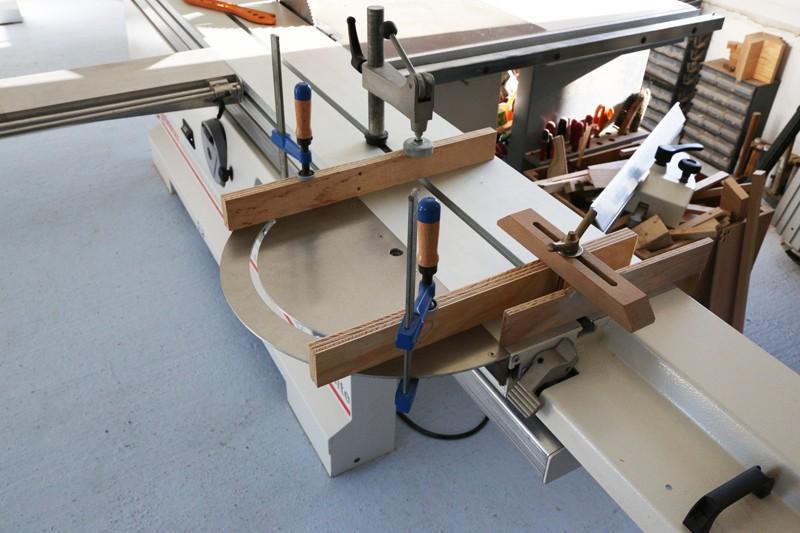 [Fabrication] Guide de coupe angulaire pour scie à format. 15_jan14