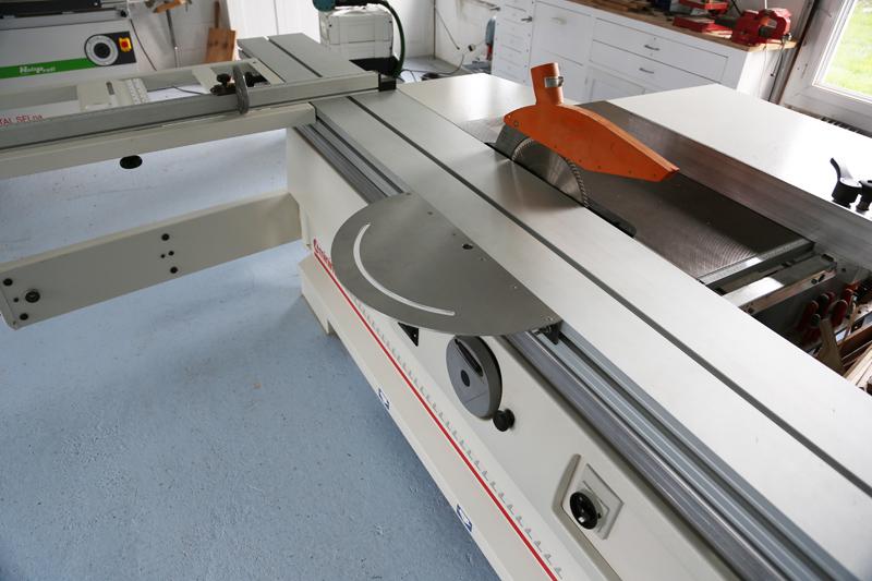 [Fabrication] Guide de coupe angulaire pour scie à format. 15_jan17
