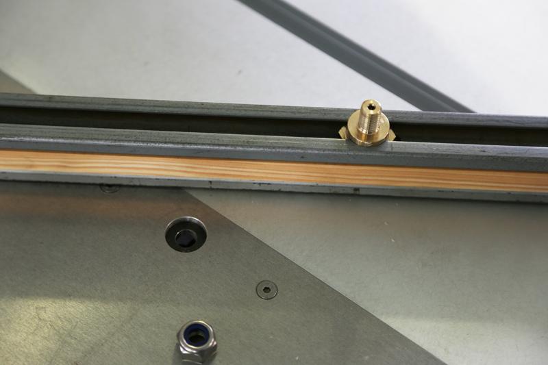 [Fabrication] Guide de coupe angulaire pour scie à format. 15_jan21