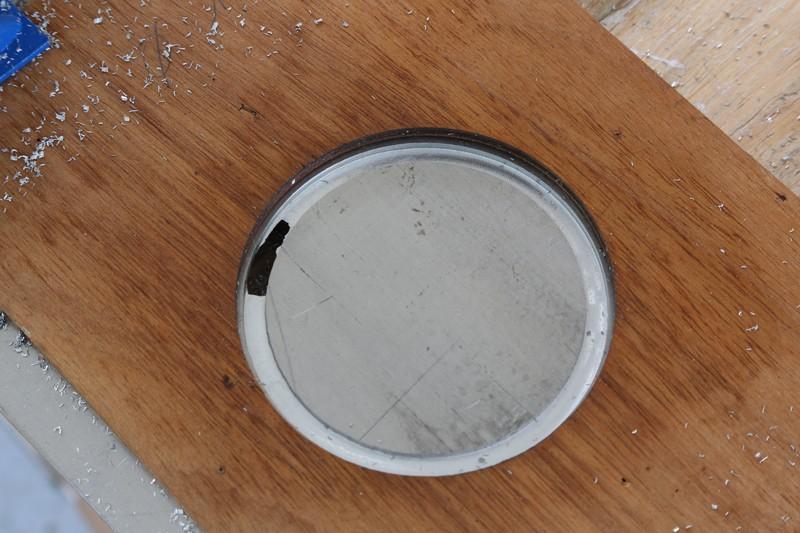 Fraisage de l'aluminium à la défonceuse. 16_jan18