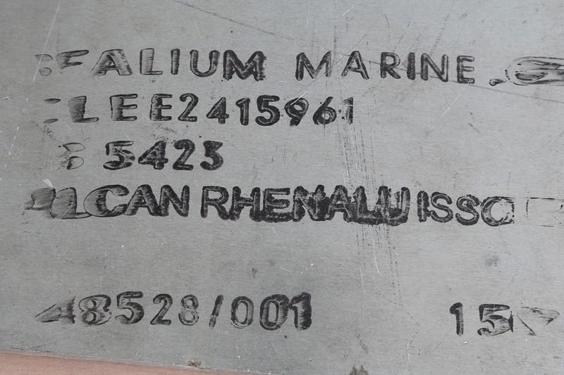 Fraisage de l'aluminium à la défonceuse. 19_jan15