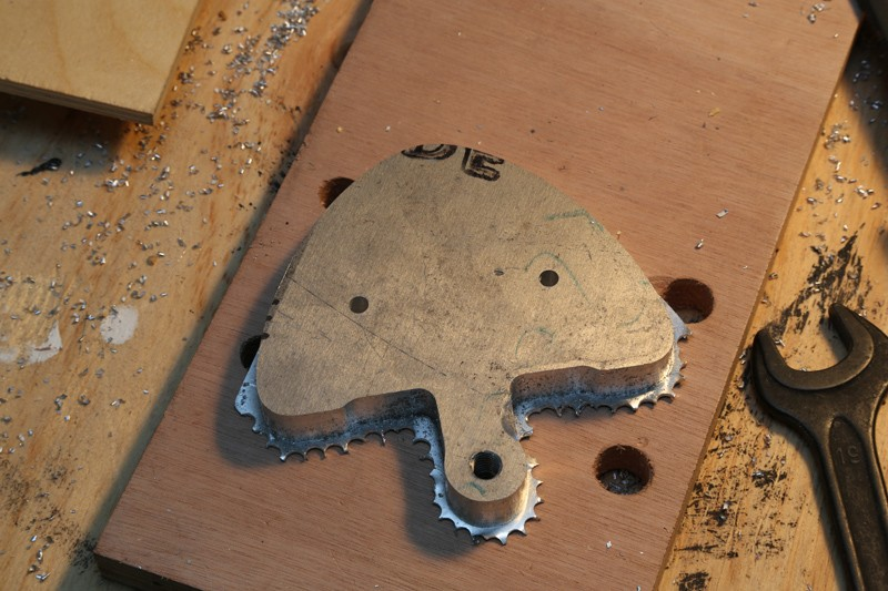 Fraisage de l'aluminium à la défonceuse. 22_jan12
